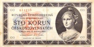 历史纸币 库存图片