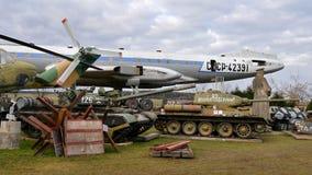历史航空和军事技术 免版税库存图片