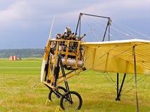 历史航空器详细观看 免版税库存图片