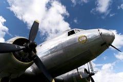 历史航空器道格拉斯DC-3 图库摄影