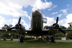 历史航空器道格拉斯DC-3 免版税库存照片