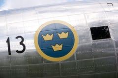 历史航空器道格拉斯DC-3 免版税图库摄影