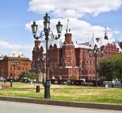 历史莫斯科博物馆 免版税库存照片