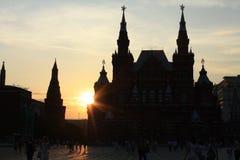 历史莫斯科博物馆 免版税库存图片