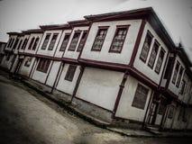 历史街道在土耳其 库存图片