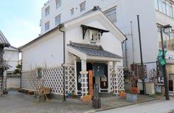 历史街道马塔莫罗斯长野日本 图库摄影