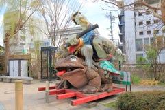 历史街道马塔莫罗斯长野日本 库存照片