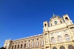 历史记录博物馆自然维也纳 库存照片