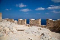 历史记录废墟  库存图片