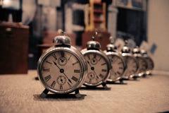 历史记录时间 免版税库存图片