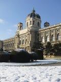 历史记录皇家博物馆自然维也纳 免版税库存照片