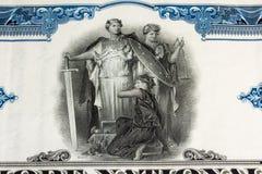 历史记录股票 免版税库存图片
