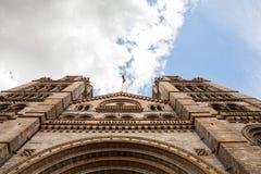 历史记录自然伦敦的博物馆 图库摄影