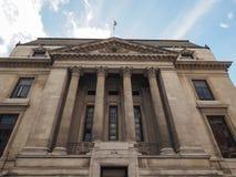 历史记录自然伦敦的博物馆 免版税库存图片