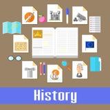 历史记录 图库摄影