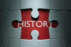 历史记录 免版税库存图片