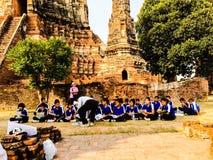 历史课在泰国 免版税库存图片