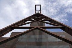 历史采矿业Zollverein 库存图片