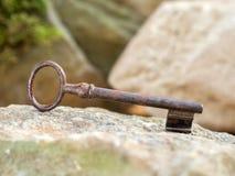 历史钥匙 免版税库存照片