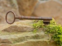 历史钥匙 免版税库存图片