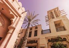 历史阿拉伯大厦 免版税图库摄影