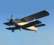 历史飞机 免版税库存照片