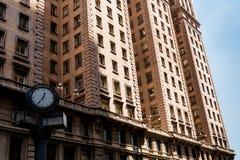 历史马蒂内利大厦 库存图片