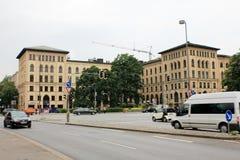 历史建筑在慕尼黑德国 库存照片