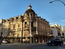历史建筑在街市里约是冒险崩溃 免版税库存图片
