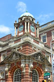 历史建筑在街市费城,宾夕法尼亚 免版税库存照片