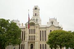 历史建筑希尔县法院大楼外部 免版税库存图片