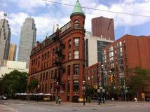 历史建筑街市多伦多,加拿大 免版税图库摄影