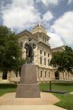 历史建筑贝尔县法院大楼 免版税图库摄影