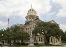 历史建筑贝尔县法院大楼TX 库存照片