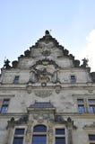 历史建筑-从德累斯顿的Georgenbau在德国 免版税库存照片