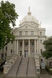 历史建筑M'LCNNAN市政厅 库存图片