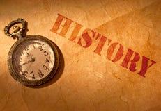 历史 免版税库存照片
