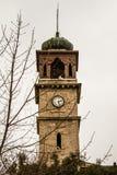 历史Balıkesir尖沙咀钟楼在土耳其 免版税库存照片