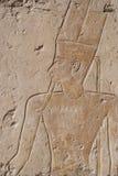 历史egyptin寺庙 库存图片
