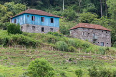 历史Houses Caminhos de Pedra巴西 库存照片
