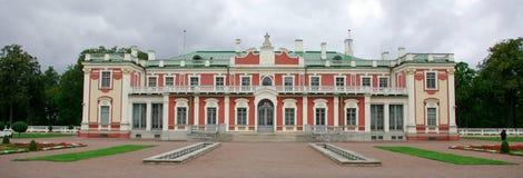 历史kadriorg宫殿 免版税库存图片