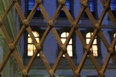 历史valdstejn宫殿在布拉格 免版税库存图片
