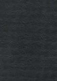 压印的黑纸纹理背景 库存图片