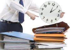 压时间 免版税图库摄影