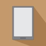 压片书智能手机象平的设计的eReader 免版税库存照片