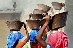 压碎器印度最小值 免版税库存照片
