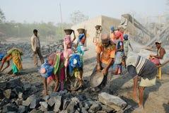 压碎器印度最小值 免版税库存图片