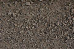 压碎岩道路 库存照片