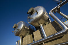 压缩机气体 库存图片