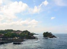 巴厘岛印度尼西亚批次tanah寺庙 免版税图库摄影